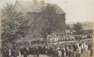 Einweihung Steigerturm 1927