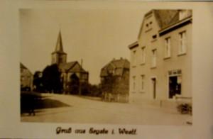 die Kirchstraße in späteren Jahren