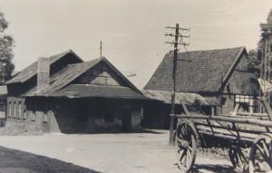 die Schmiede und das alte Haus von Kramers auf dem Hilf